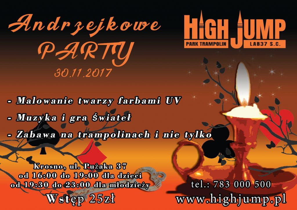 Andrzejkowe Party w HighJump Krosno