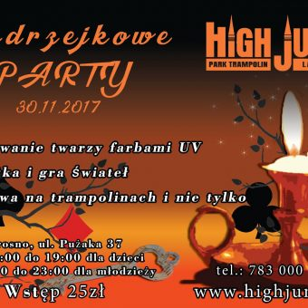 Andrzejkowe Party w Highjump Krosno!